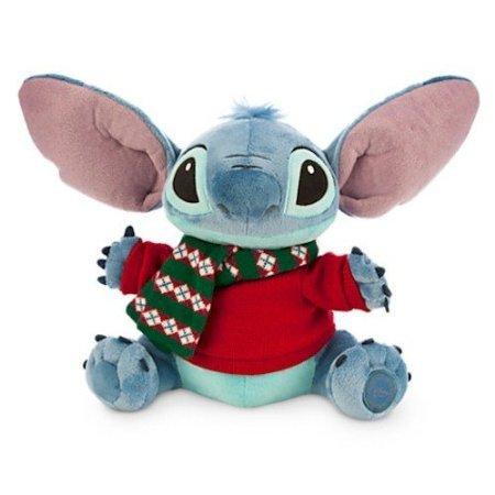 Disney Stitch Plush - Holiday - Medium - 12''