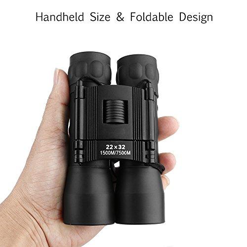 ARCHEER 22x32 Folding Binoculars...