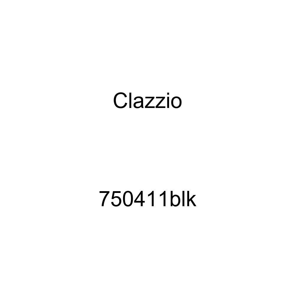 Clazzio 750411blk Black Leather Front Row Seat Cover for Chevrolet Silverado 1500//2500//3500 Crew Cab