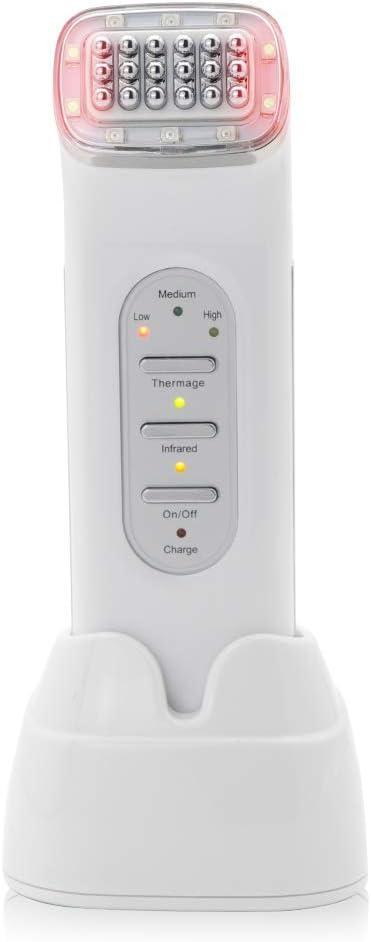 ZUZU Máquina de radiofrecuencia USB RF Cuidado Facial, eliminación de Arrugas/Mejora de Cicatrices/endurecimiento de la Piel Máquina de Matriz de Puntos