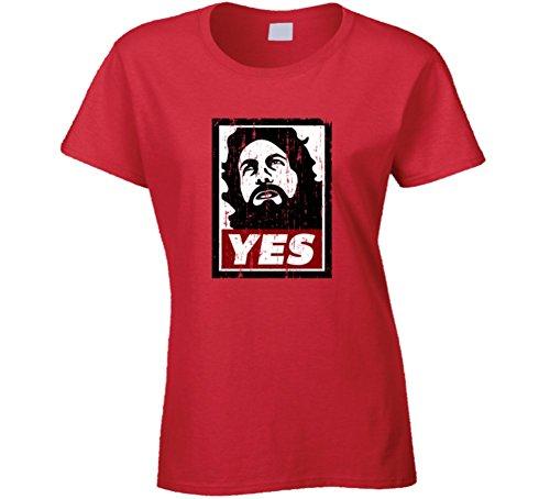 Sunshine T Shirts Daniel Bryan Yes Inspired Grunge Look T Shirts 2XL Red (Daniel Bryan Yes Yes Yes T Shirt)