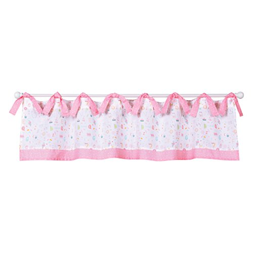 (Trend Lab Alphabet Cake Window Valance,)