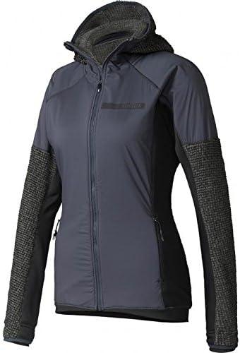adidas Damen Terrex Climaheat Techrock Fleece Jacke: Amazon
