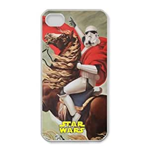 Special Design Cases iPhone 4,4S Cell Phone Case White Lhqki Star Wars Durable Rubber Cover