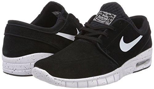 Nike Mens Stefan Janoski Max L Noir / Blanc Chaussure De Skate 8,5 Hommes Nous