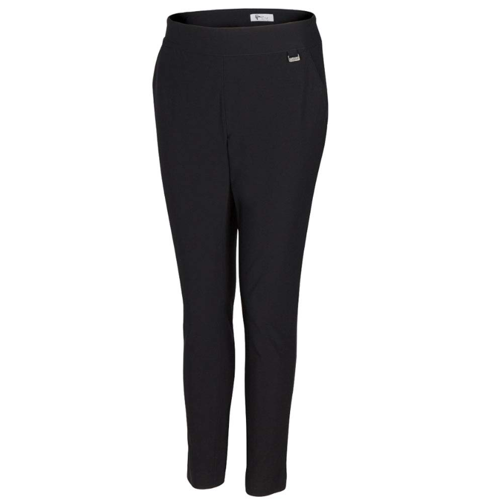 Greg Norman Women's Ml75 Pull-on Pant, Black, 14 by Greg Norman