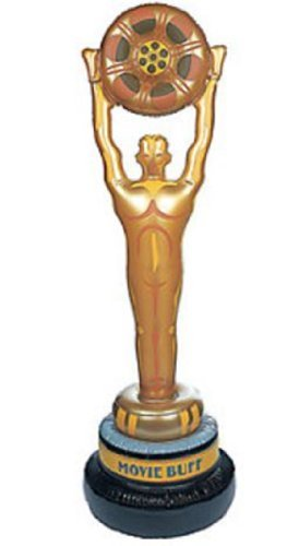 LARGE 53 Vinyl Inflate INFLATABLE MOVIE Grammy Oscar STATUE trophy award by happy (Inflatable Oscar Statue)