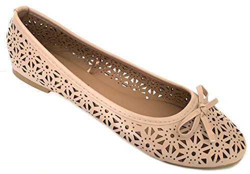 Ladies Ballerina Flats Shoes - 1
