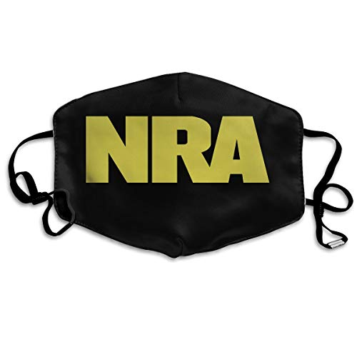Rolvsx NRA National Rifle Association Unisex Mouth-Muffle Original Mask Dust-Proof Anti-Haze Earloop Face Mask