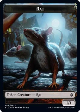 Rat Token Gatecrash MTG Magic the Gathering