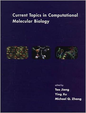 Vapaa lataus kirjat Kindle Current Topics in Computational Molecular Biology [Computational Molecular Biology] [A Bradford Book,2002] [Hardcover] PDF B00DU7X2KA