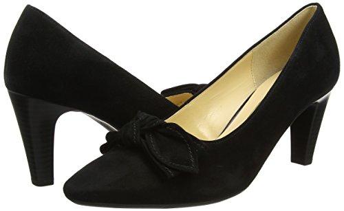 Nero schwarz 17 Gabor Scarpe Tacco Fashion Donna Con n1cX7vxc