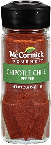 McCormick Gourmet Collection Chipotle Chile Pepper, 2 oz (Pepper Jalapeno Chile Powder Chili)