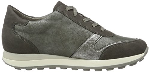 Rieker Women's N1823 Low-Top Sneakers, Grey, 3.5 UK Grey (Fumo/Altsilber/Blei / 45)