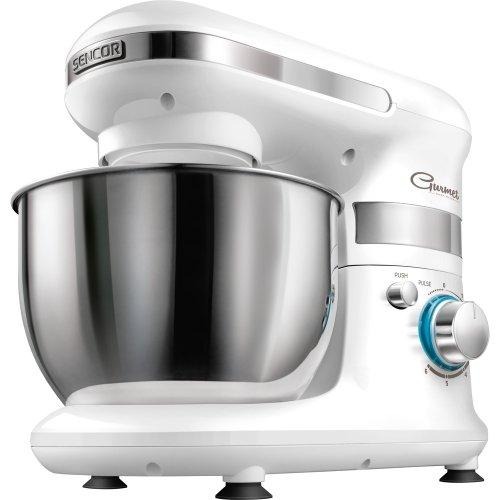 Sencor STM 3010WH - Batidora amasadora, 450 W, color blanco...
