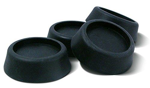 4pk Rubber Anti Vibration Pads Washer Dryer Machine Feet Noise Walking Reduction