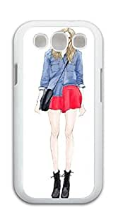 Hard Skin Case Cover Shell Samsung galaxy case - Illustration perfect body beauty