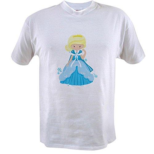 Snow Value T-shirt - Royal Lion Value T-Shirt Ice Princess Snowflake - Small