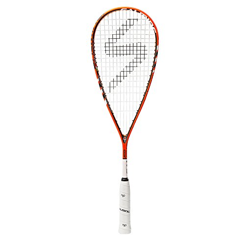 Salming Cannone Feather Squash Racquet (Orange/White) by Salming