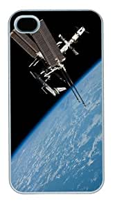 iphone 4 case wholesale covers Skyviews Satellite PC White for Apple iPhone 4/4S