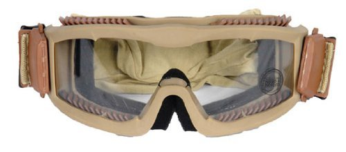 AirsoftMegastore Lancer Tactical Hobby Safety Mask Vented - Desert Tan