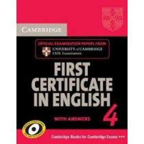 cambridge first certificate in english 4 pdf