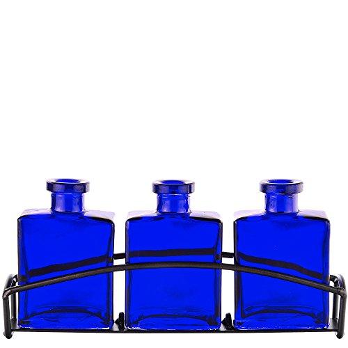 Cobalt Blue Bud Vase - 9