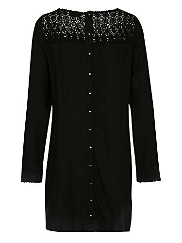 Vila - Vestido - para mujer negro