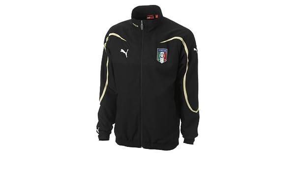 PUMA Team Sport Italia Woven Jacket Negro Negro Talla:S: Amazon.es ...