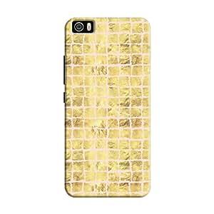 Cover It Up - Gold Pink Break Mosaic Mi5 Hard Case