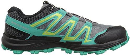 Salomon L39063000, Sneakers trail-running femme Monument / Atlantis / Black