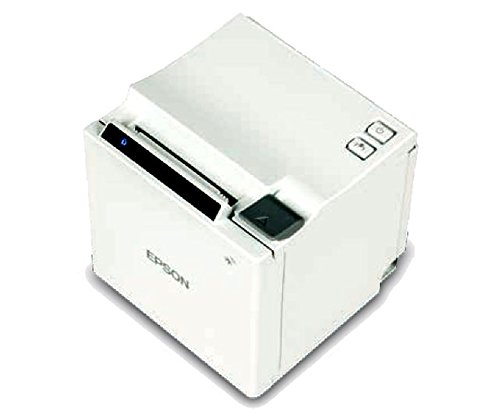 USB+Wireless Power Supply Included EPSON TM-M10 Compact 2 Thermal Receipt Printer Auto-cutter White
