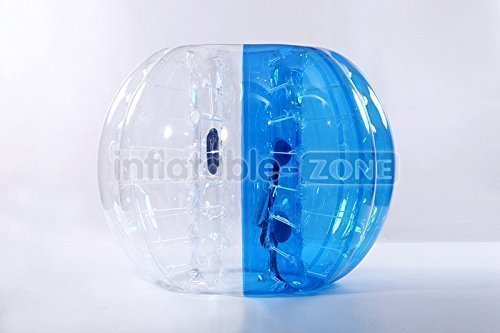 Inflatable Zone Bubble Ball, Blue by inflatable-zone
