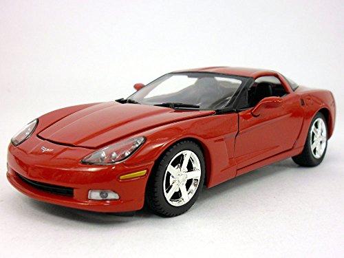 Chevrolet Corvette C6 (2005) 1/24 Scale Diecast Metal Model - RED ()