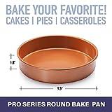 Gotham Steel Round Baking Pan Nonstick