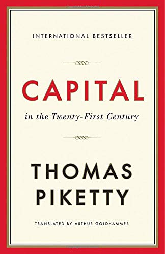 Capital in the Twenty-First Century: Piketty, Thomas, Goldhammer, Arthur:  9780674979857: Amazon.com: Books