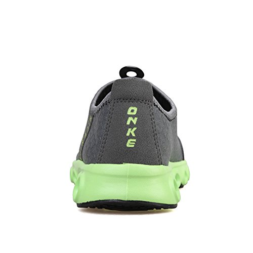 Casual Drying Breathable Sneaker Women Quick Dark JACKSHIBO Mesh Shoes Shoes Grey Lightweight E8U4q0w