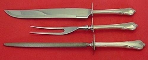 Grand Colonial By Wallace Sterling Silver Roast Carving Set ()
