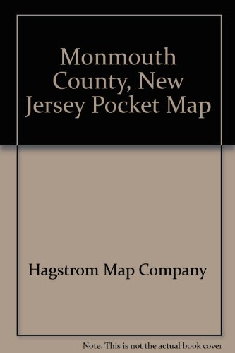 Monmouth County, New Jersey Pocket Map