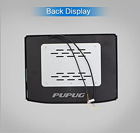 17 inch Widescreen LCD Roof Mount Monitor High Resolution Display overhead monitor Car Flip Drop Down Overhead Support HDMI FM transmit SD//USB Input