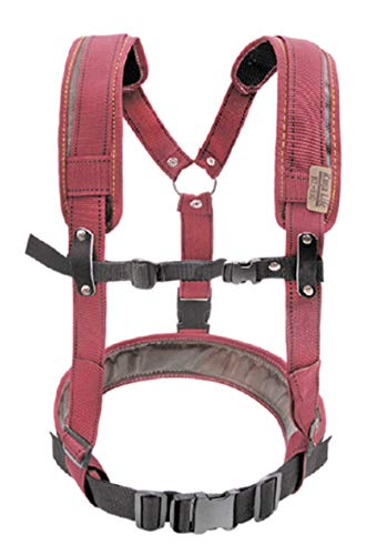 KAYA KL- 210 Carpenter Work Tool Belt Suspenders Support Adjustable Length by KAYA