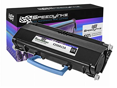 Speedy Inks Remanufactured Toner Cartridge Replacement for Lexmark E250A11A (Black)