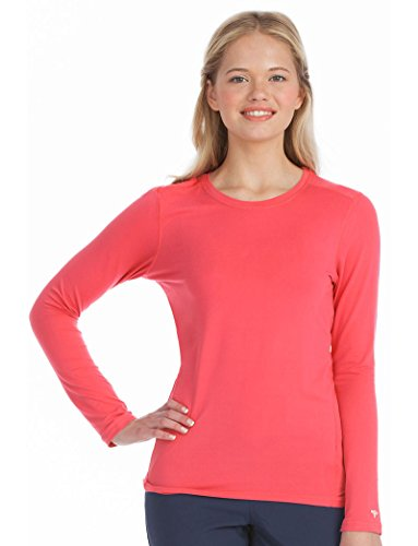 Hospital Medical Long Sleeve (Activate by Med Couture Women's 8499 Performance Long Sleeve Underscrub Tee- Sun-Kissed- 3X-Large)