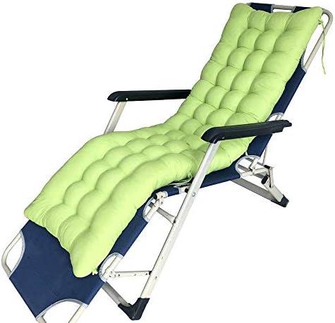 ハイバックチェアクッションサンラウンジャークッションリクライニングチェアソフトフォームガーデンチェアシートパッドクッションバックレスト付きチェア(マルチカラー)