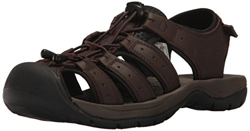 Propét Propet Mens Kona Fisherman Sandal Brown 64e49mB3