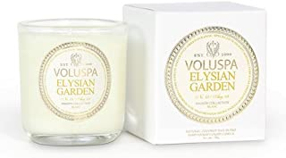 product image for Voluspa Classic Boxed Votive Candle, Elysian Garden, 3 Ounce