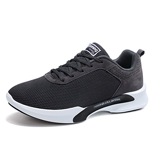 Running Shoes for Men Mens Sneakers Fashion Sports Outdoor Athletic Shoes Trainer Shoe Gray
