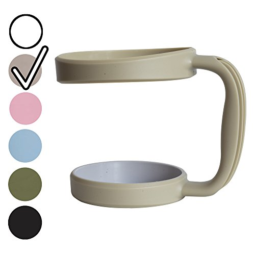 NEW BevWorx Tumbler Handle for 30 oz. Yeti, RTIC, SIC tumblers and more! Eco-friendly and ergonomic, the perfect way to customize your tumbler! (30 oz., Coyote Tan)