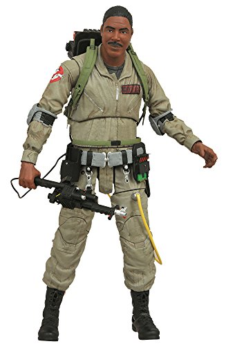 "[Select Ghostbusters: ""Ghostbusters"" series 1 Winston zeddemore height 18 cm plastic pre-painted action figure"
