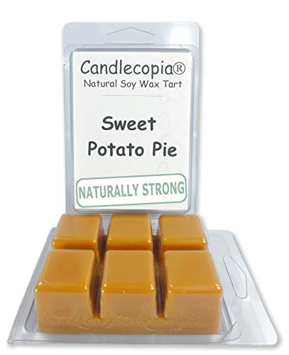 Candlecopia Sweet Potato Pie Strongly Scented Hand Poured Ve